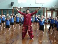 Room 7 Woodpeckers Bollywood dance workshop